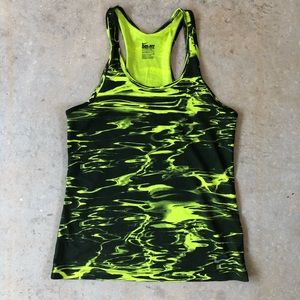 Nike Dri-Fit Neon Liquid Tank Top